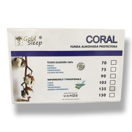 Imagen para funda de almohada Coral de GoldSleep