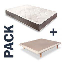 Imagen para pack de colchon Tardor y base tapizada Mini Standard de Astral