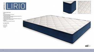 Imagen para Ficha Tecnica del colchón Lirio de Sueña