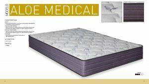 Imagen para Ficha Técnica del colchón Aloe Medical de Sueña