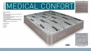 Imagen para Ficha Técnica del colchón Medical Confort de Sueña