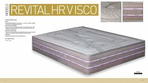 Imagen para Ficha Técnica del colchón Revital HR Visco de Sueña