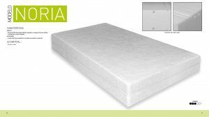 Imagen para Ficha Técnica del colchón Noria de Sueña