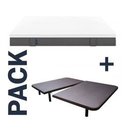 Imagen para pack colchón Emma Original más base tapizada partida Titan de GoldSleep
