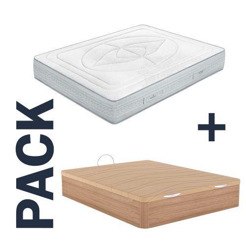 Imagen para pack de colchón Indra de Sonpura y canapé Excellence de GoldSleep