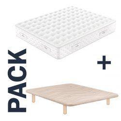 Imagen para pack colchón Royal y base tapizada Maxus