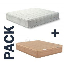 Imagen para pack colchón Tabit de Astral Nature y canapé Excellence de GoldSleep