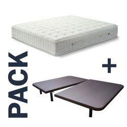 Imagen para pack colchón Tabit y base tapizada Titán de GoldSleep