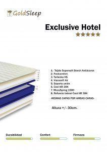 Imagen para colchón Exclusive Hotel GoldSleep